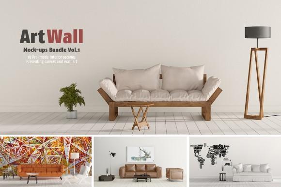 wall-art-bundle-mockup-psd