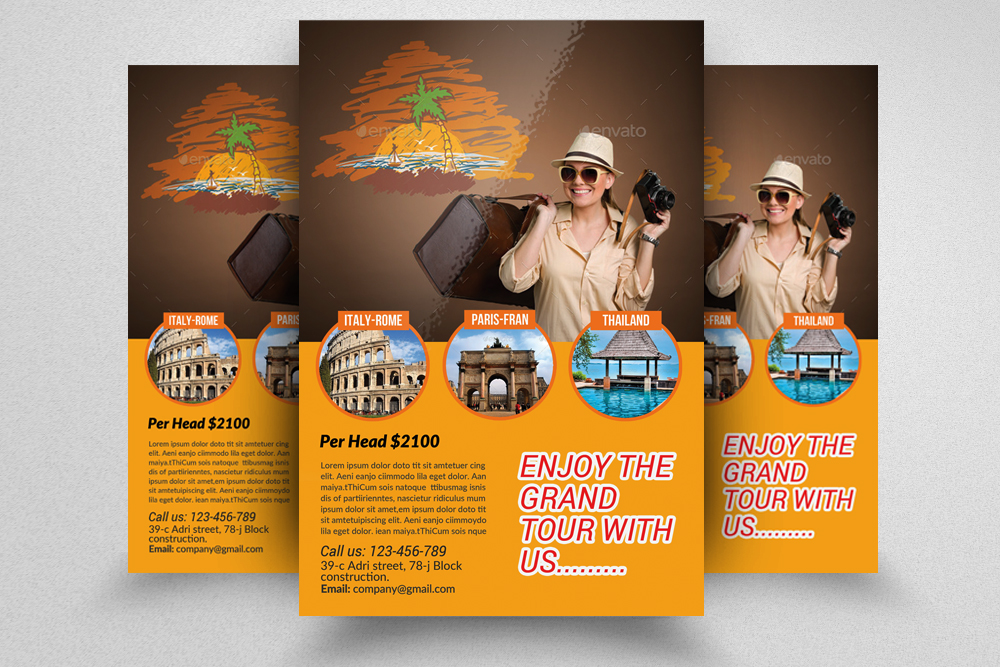 travel-agency-flyer-template