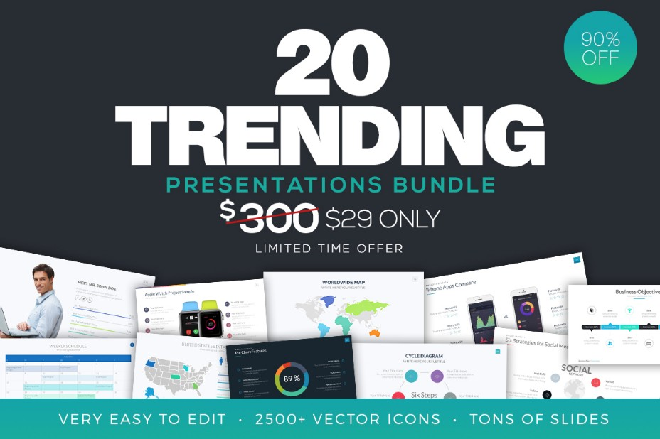 20-trending-powerpoint-template-bundle