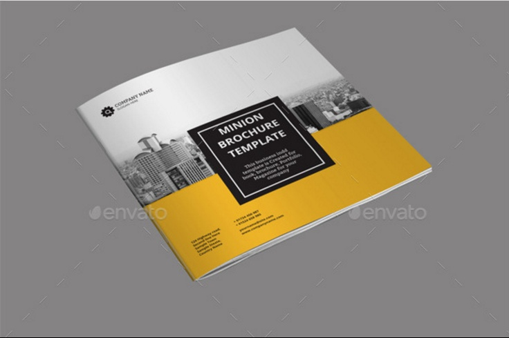 32-pages-square-brochure-psd-template