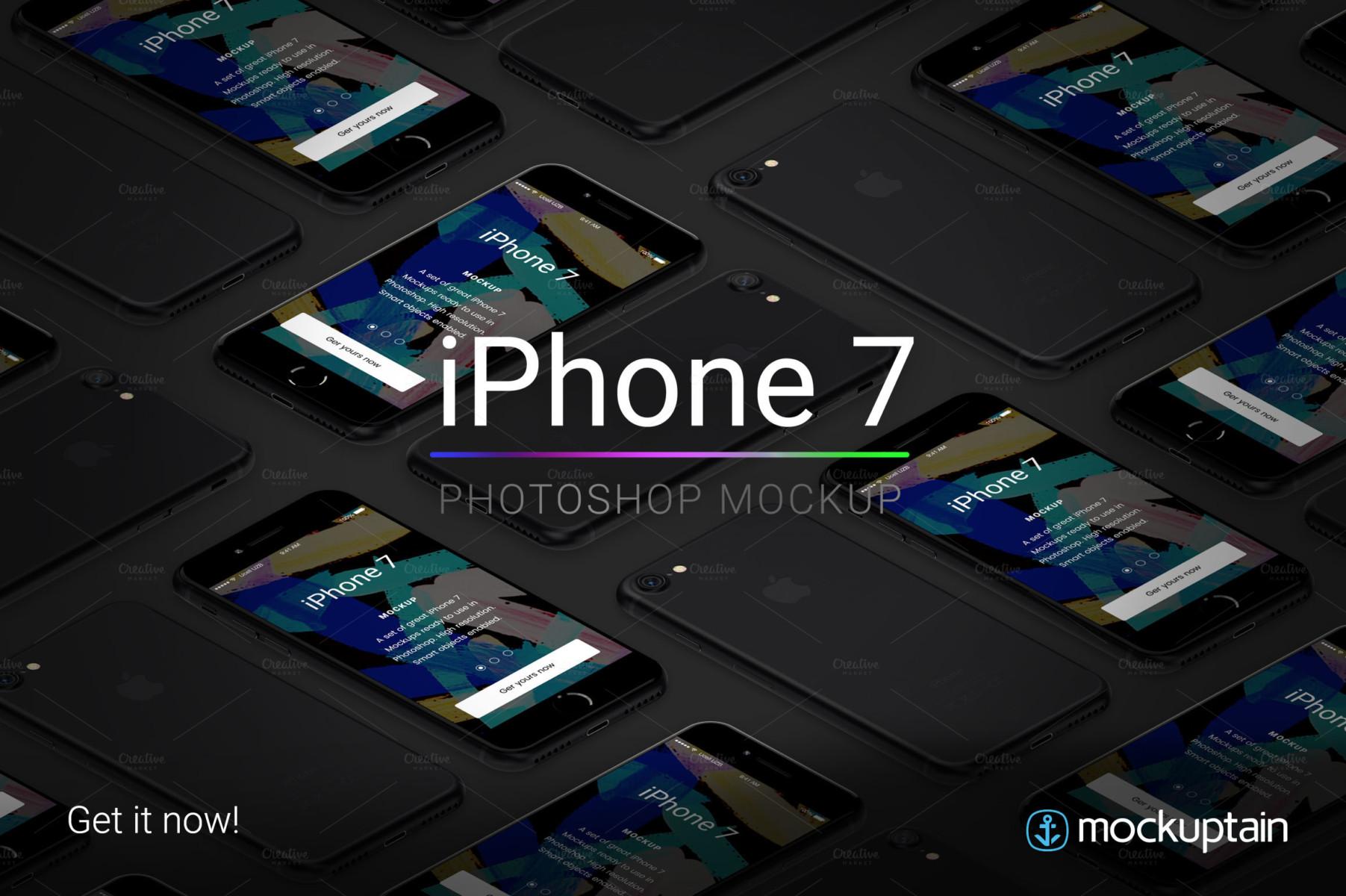 iphone-7-mockup-mockuptain-black