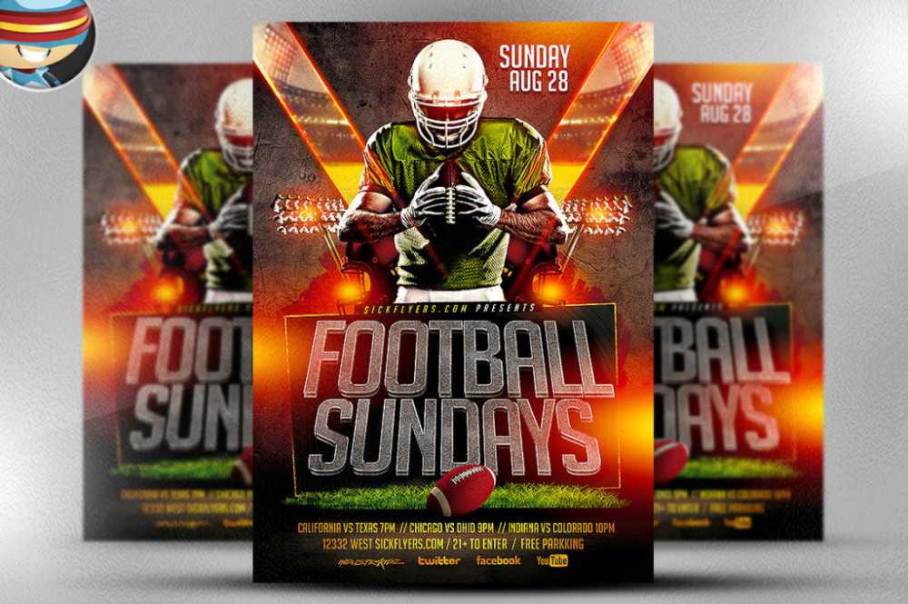 football-saturdays-flyer-template-party-flyer-psd