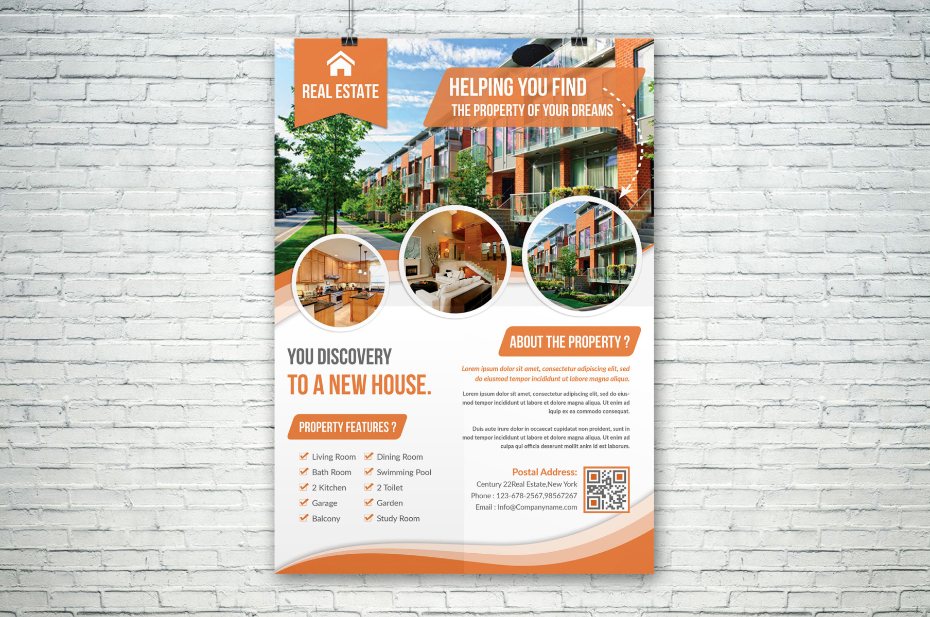 real estate flyer psd templates graphic cloud house flyer template buy now