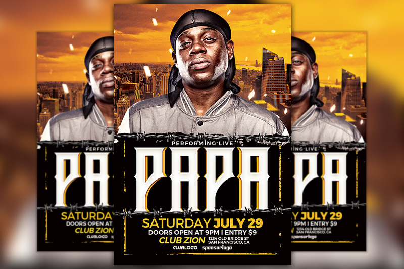 15 Party And Night Club Psd Flyer Templates Graphic Cloud