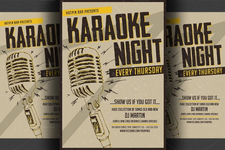 Talent Show Flyer Template Militaryalicious