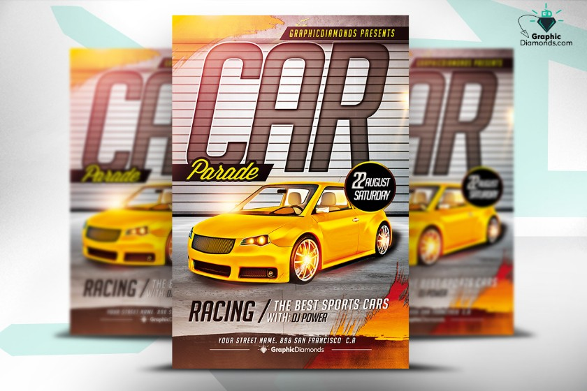car-parade-flyer-template-psd