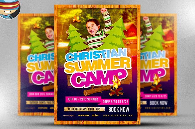 christian-summer-camp-flyer-template
