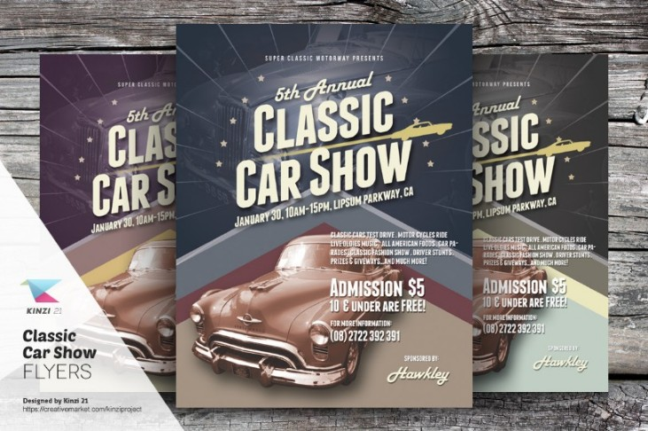 classic-car-exhibition-flyer-template