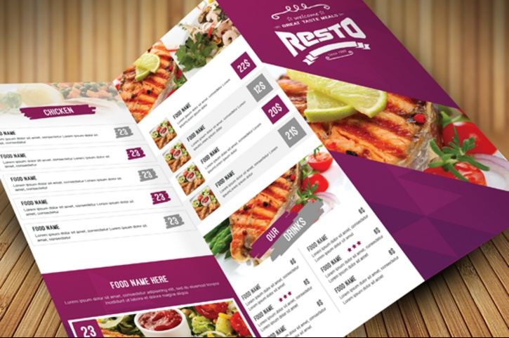 10 Catering Menu Template PSD Ai and InDesign Format Graphic Cloud – Catering Menu Template Free