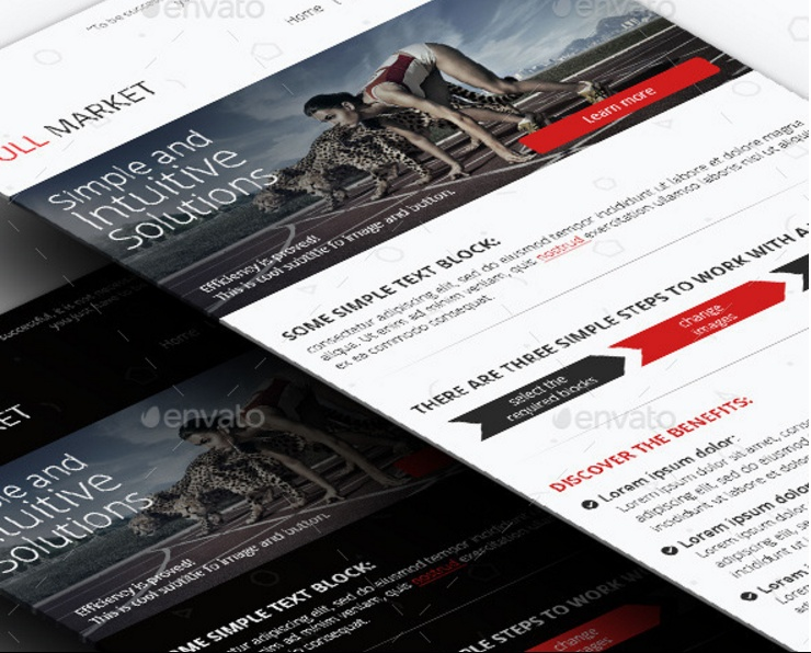 clean-email-marketing-template