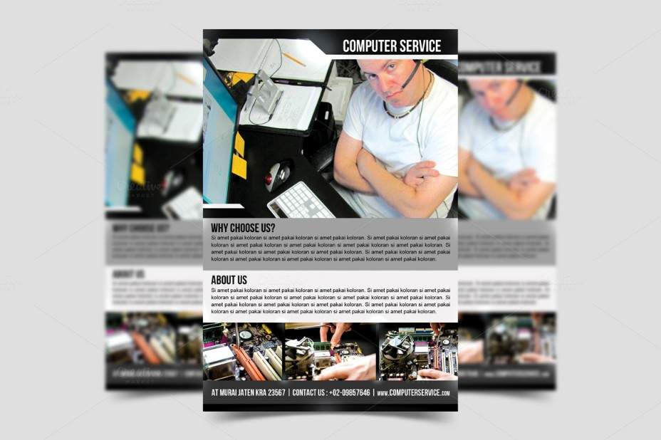 computer-service-flyer-template