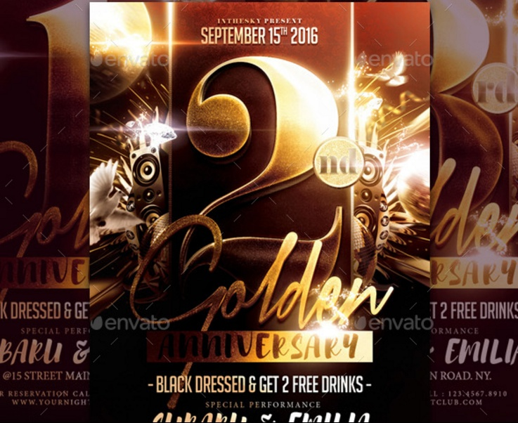 Anniversary Flyer | 15 Anniversary Flyer Template Psd Word Ai And Indesign Format