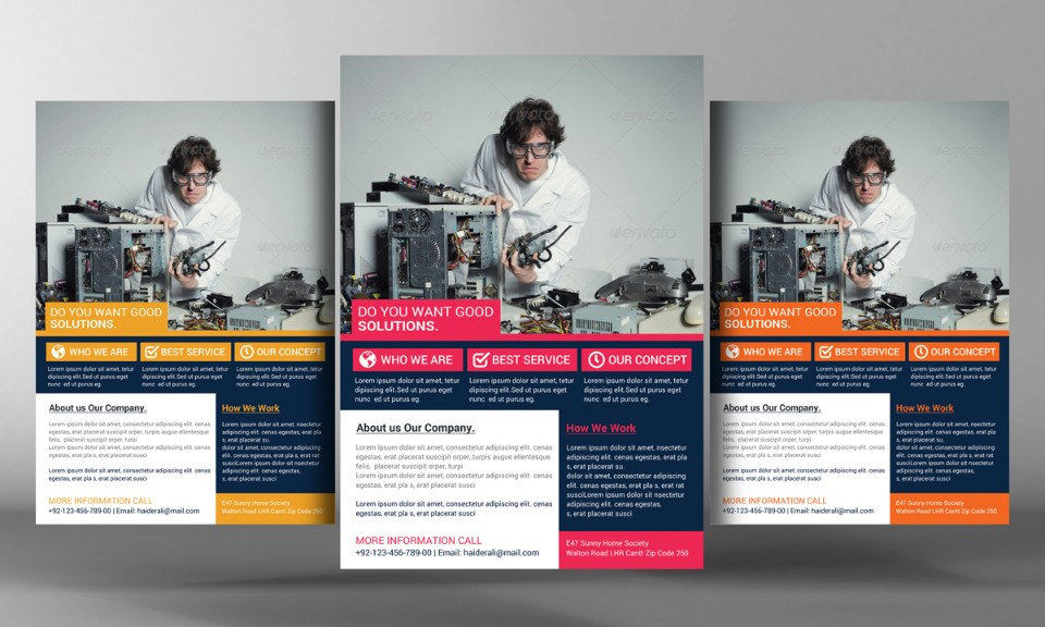 elegant-computer-repair-flyer-template