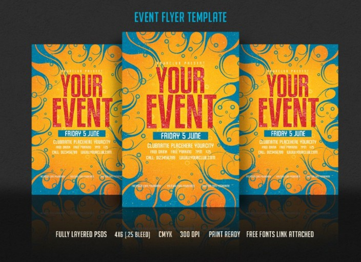 event-retro-flyer-template-psd