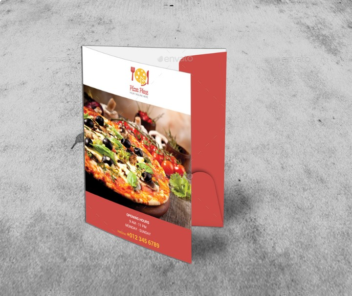 food-menu-presentation-folder-template
