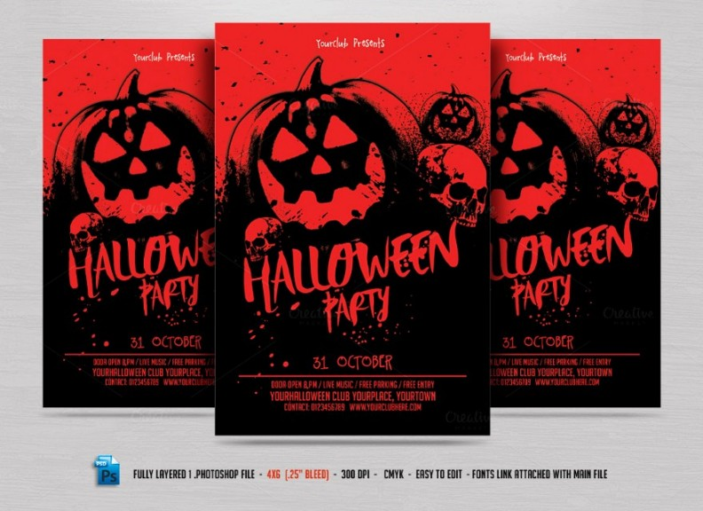 fully-layered-halloween-party-flyer-template