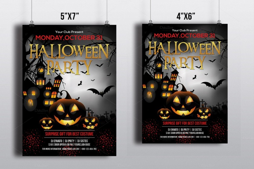 halloween-party-invitation-flyer-template