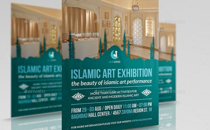 islamic-art-exhibition-flyer-template
