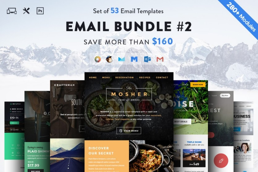 multipurpose-email-template-bundle