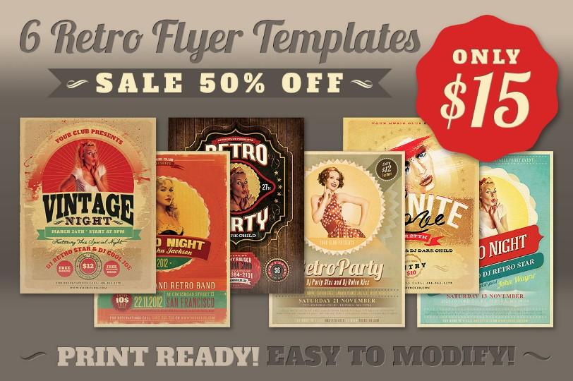 printable-retro-flyer-template-psd