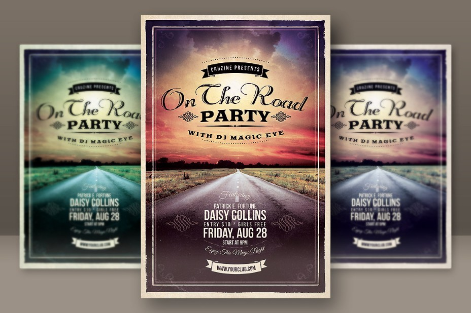 retro-grunge-party-flyer-template