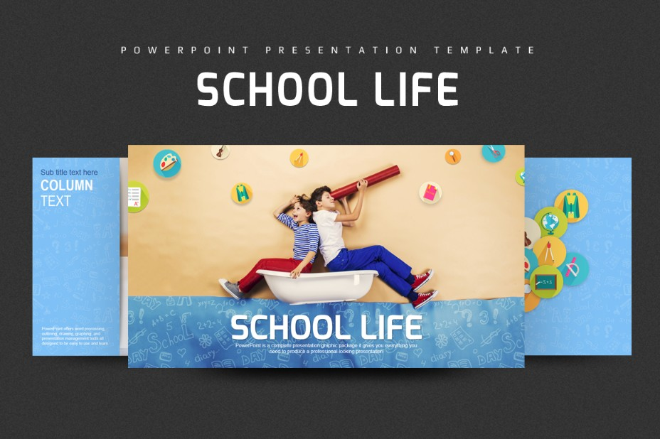 school-life-powerpoint-template