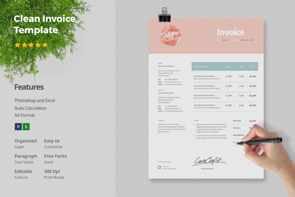 Invoice Templates  FormilesInfo