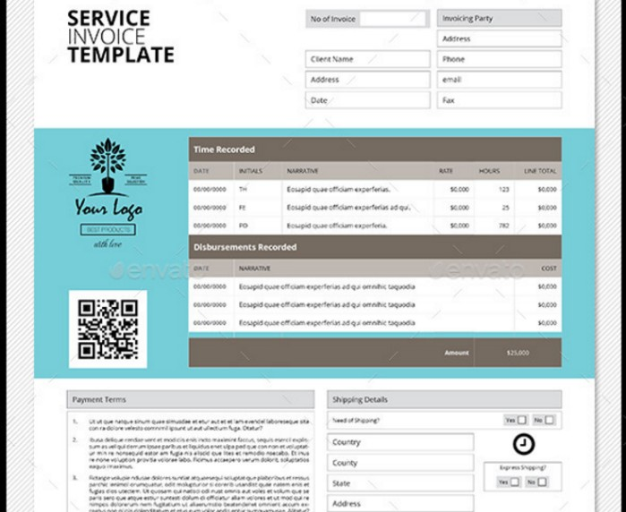 Invoice Template Us