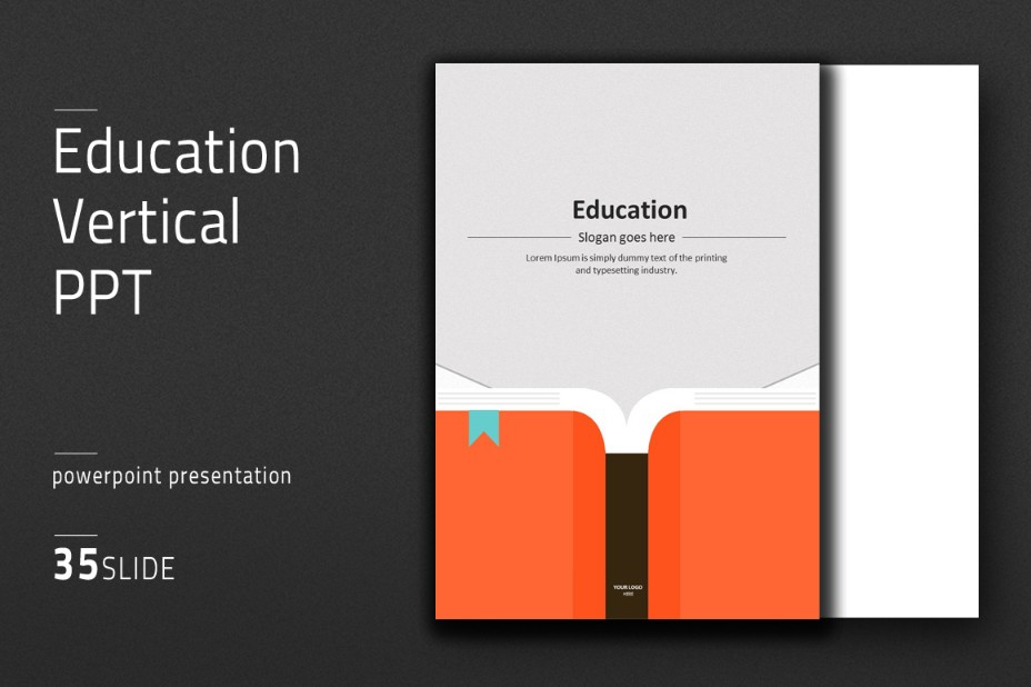 vertical-education-powerpoint-template
