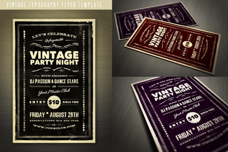 vintage-party-flyer-template-psd