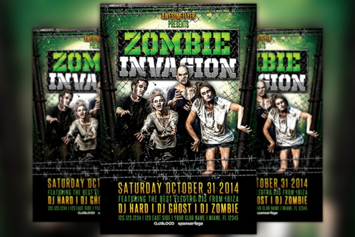 zombie-flyer-template-psd