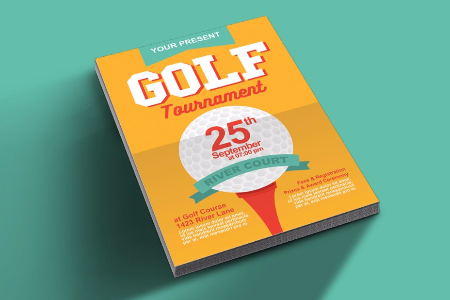 golf-flyer-template