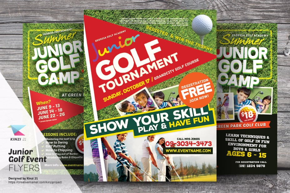 junior-golf-flyer-template