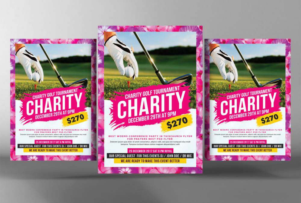 golf-match-flyer-template