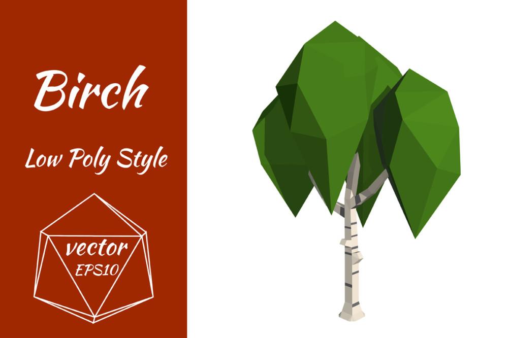 Poly tree illustration