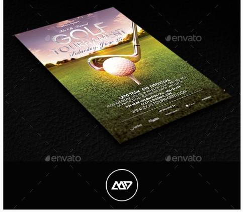 golf-event-flyer-psd