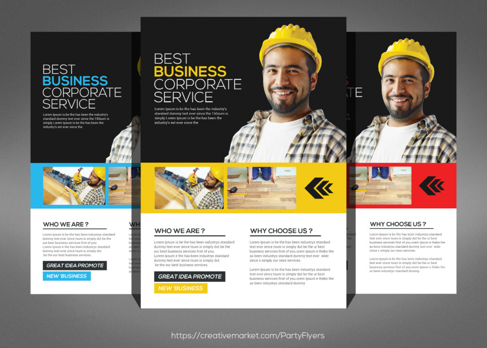 advertising flyers templates