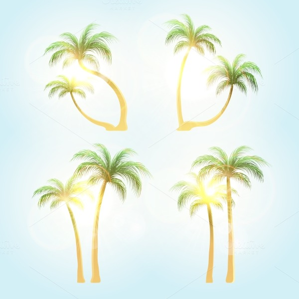 Island tree vectors