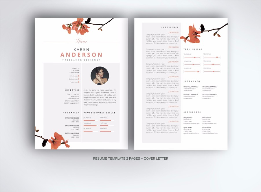 15 mac cv resume templates graphic cloud