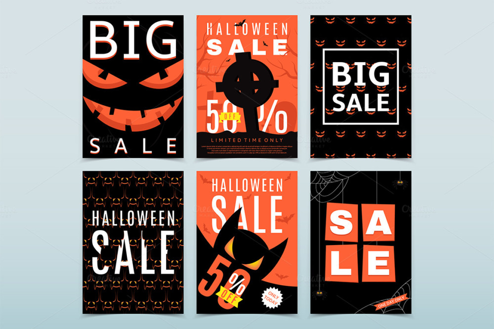 Halloween Flyer Poster Template