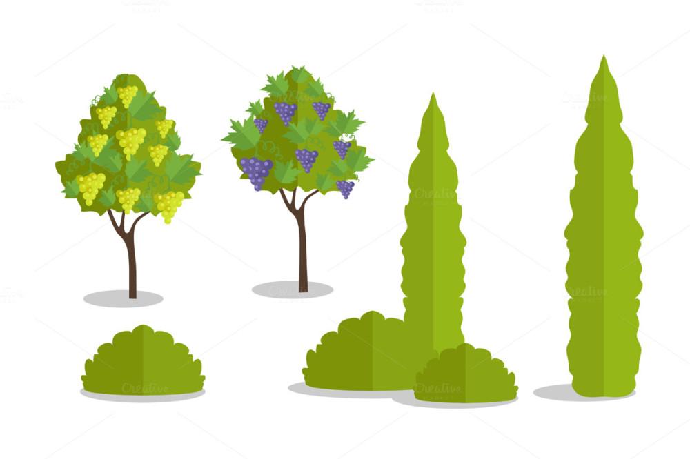 Tree Vector Bundle