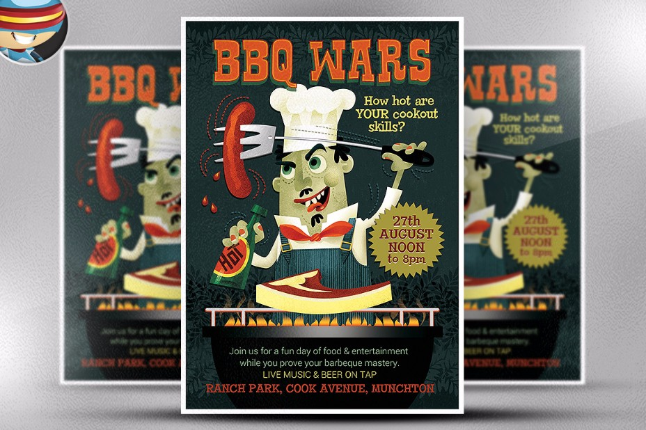 bbq-wars-flyer-template