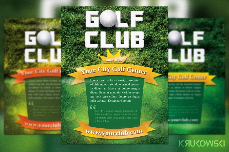 golf-game-flyer-template