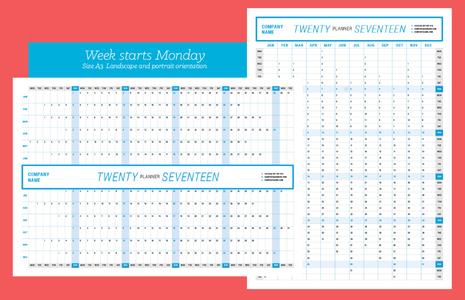 Top 20 Printable Planner Templates - Graphic Cloud
