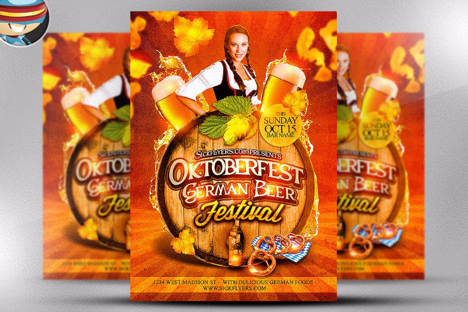 beer-food-flyer-template