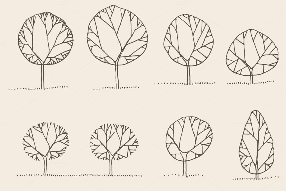 tree-vector-illustrations