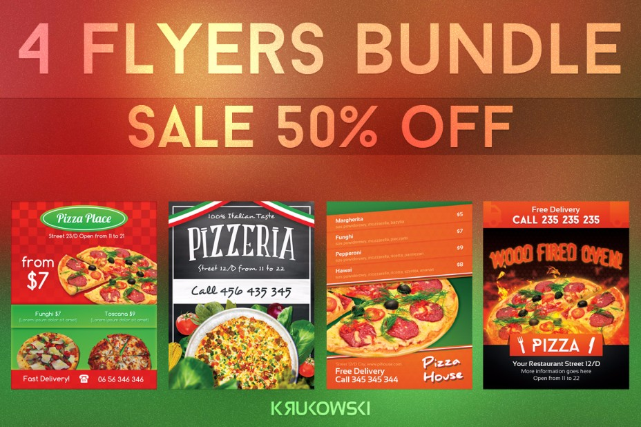 restaurant-pizza-flyer-template-bundle