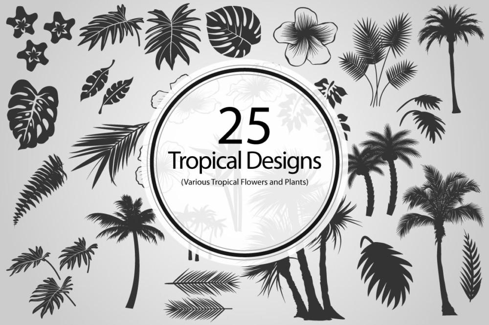 tropical-tree-vectors