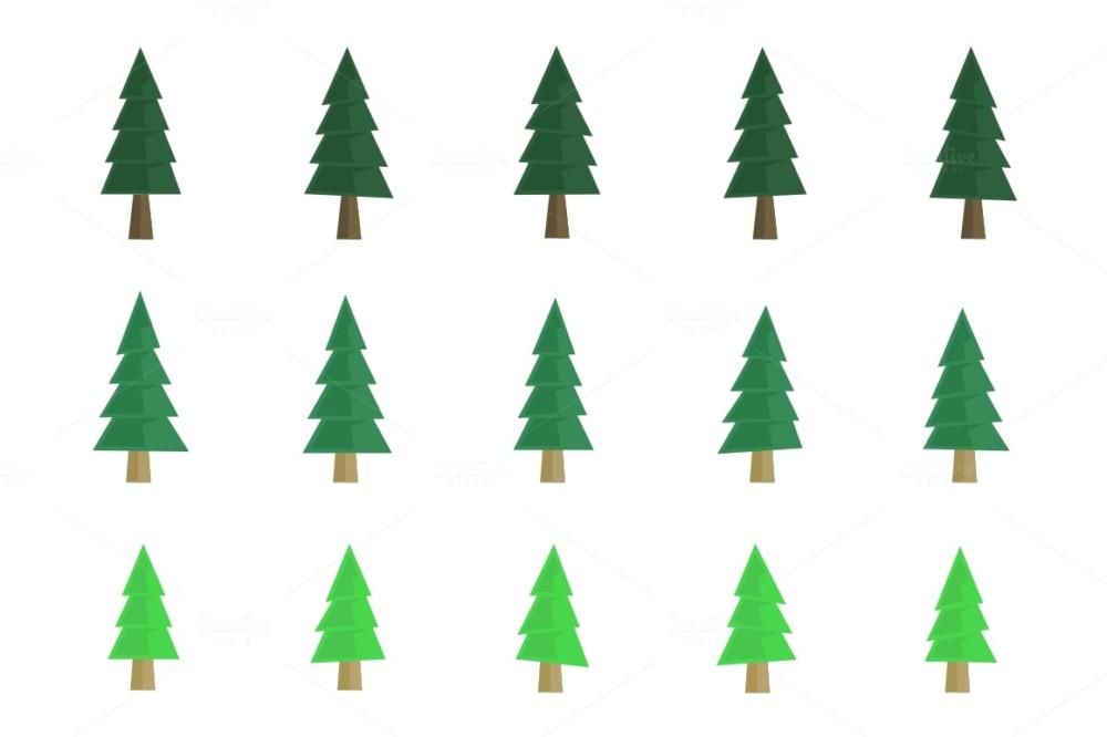 flat-taper-pine-tree