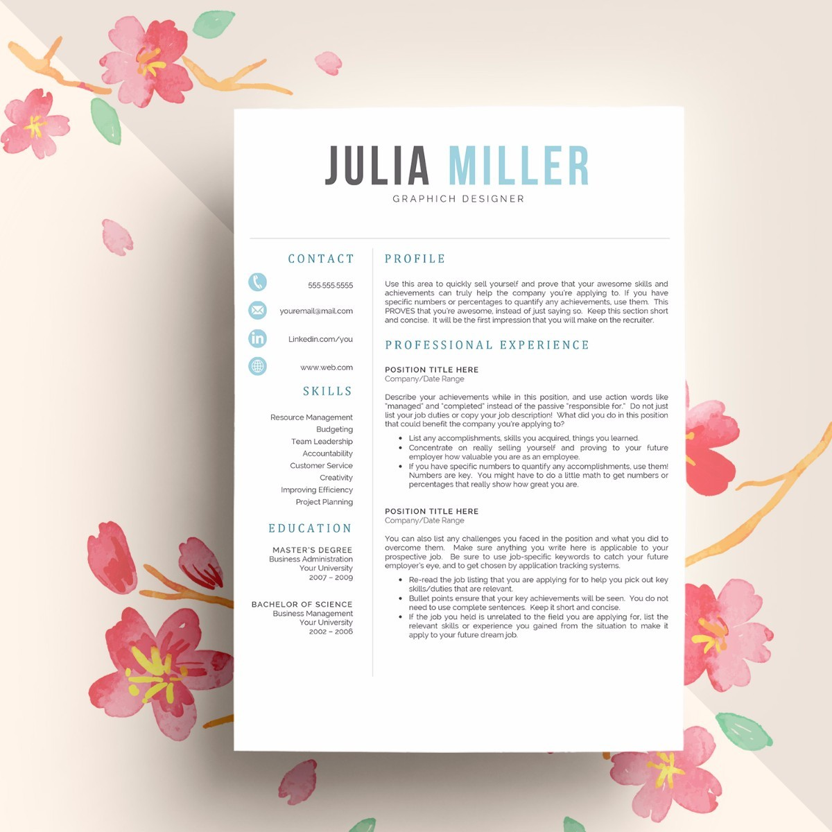 15 mac cv resume templates graphic cloud - Resume Builder Mac